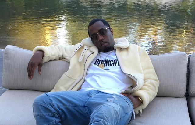 Diddy chilling