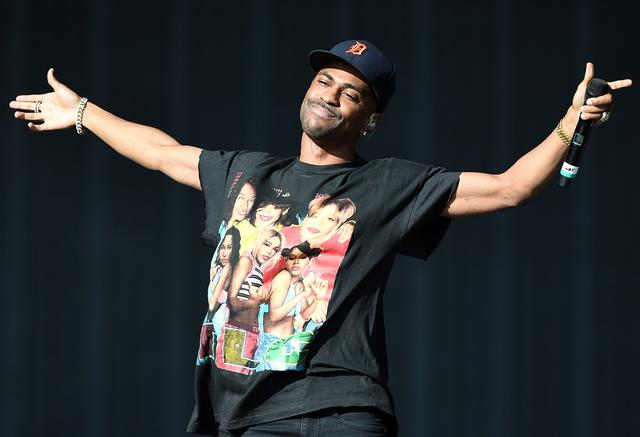 Big Sean at Rock In Rio USA event