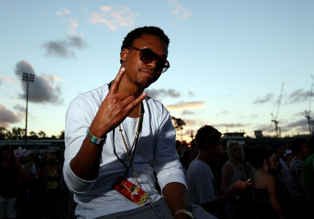 Lupe Fiasco at Big Day Out Festival in 2011