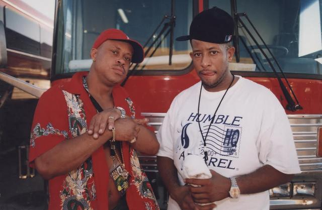 Gang Starr aka Guru and DJ Premier