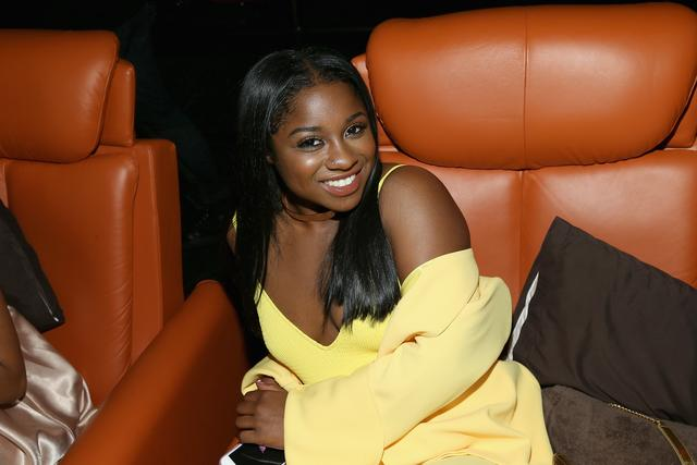 Reginae Carter at a movie premiere