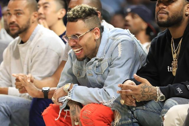 Chris Brown at BIG3 Week Eight