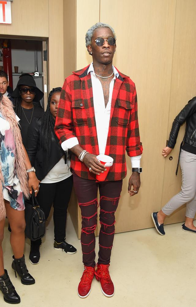 Young Thug at Rihanna Party