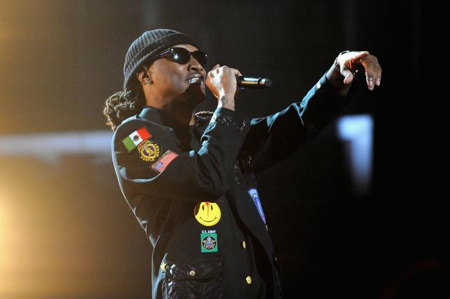 Future at 2012 BET Hip-Hop awards