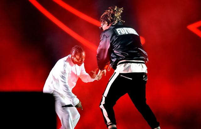Future at 2017 Coachella with Kendrick Lamar