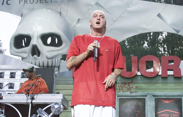 Eminem at experience music project