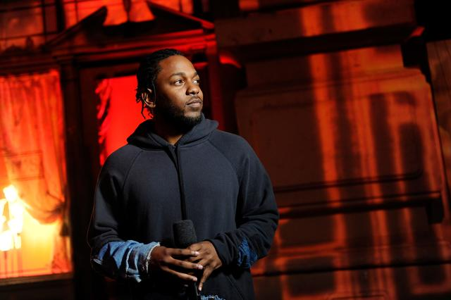 Kendrick at the 2016 MTV Awards