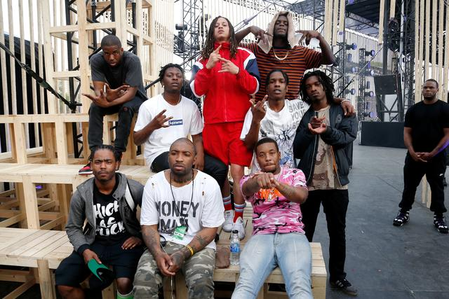ASAP Ant and the rest of ASAP Mob
