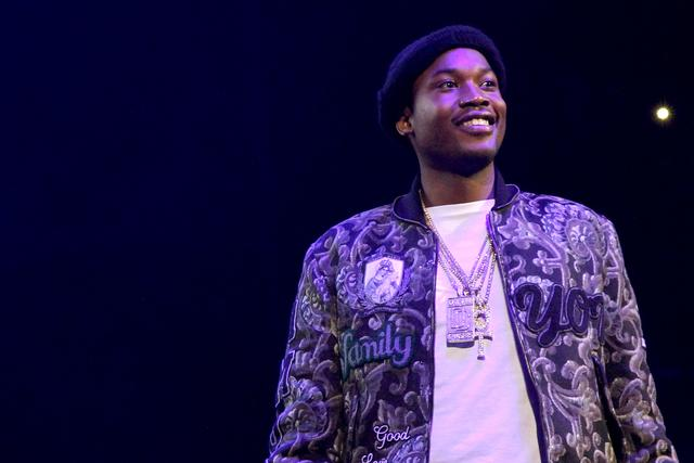 Meek Mill at Powerhouse show