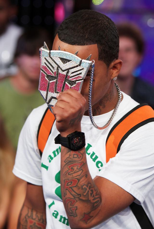 Yung Berg's transformers chain