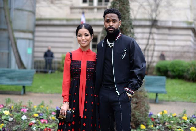 Jhene Aiko and Big Sean at Dior event