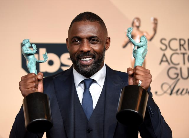 Idris Elba of Luther