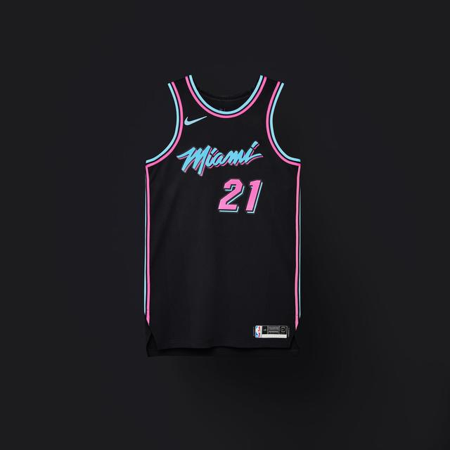 Heat 2018-19 City Edition Uniform