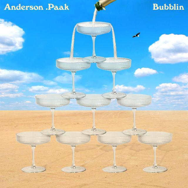 """Anderson .Paak - """"Bubblin"""" cover art"""