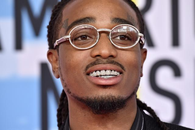 Quavo at the AMAS 2018