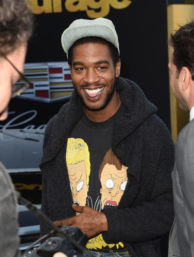 Kid Cudi at Entourage premiere
