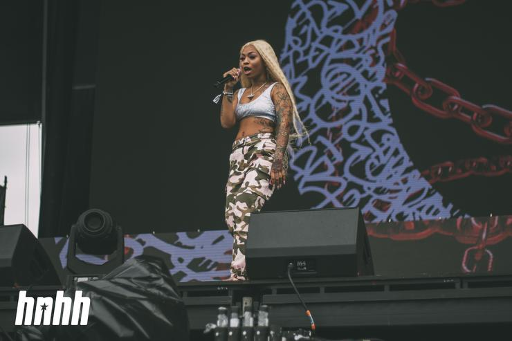 Cuban Doll at Rolling Loud 2018