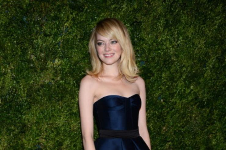 Actress Emma Stone attends The Ninth Annual CFDA/Vogue Fashion Fund Awards at 548 West 22nd Street on November 13, 2012 in New York City.