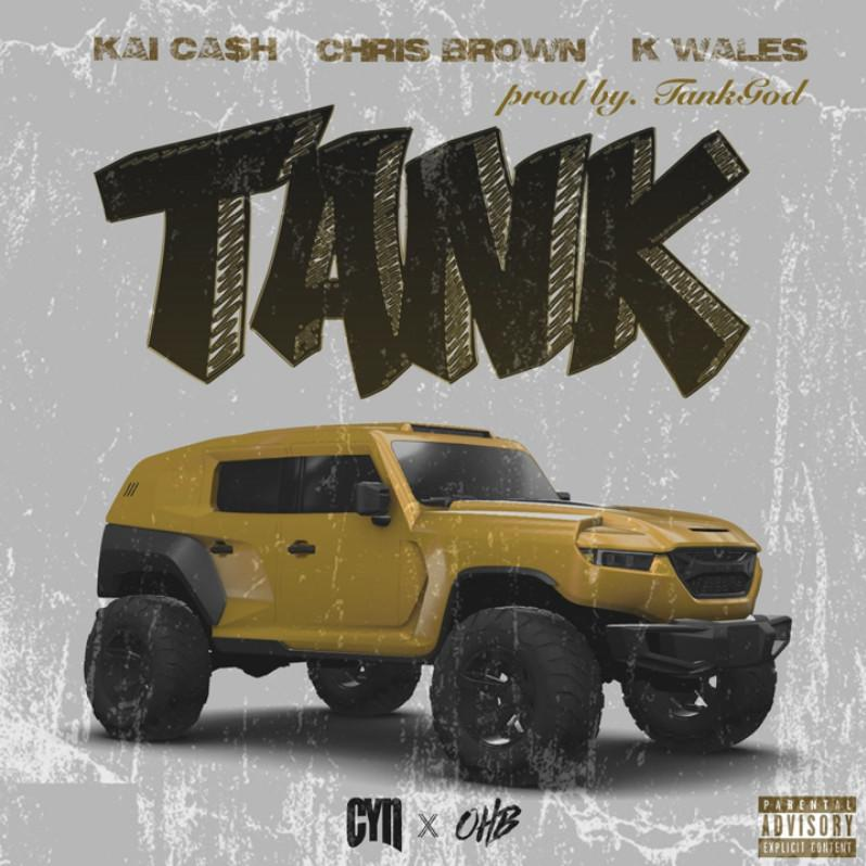 "Kai Ca$h Enlists Chris Brown & K. Wales To Ride On His New Single ""Tank"""