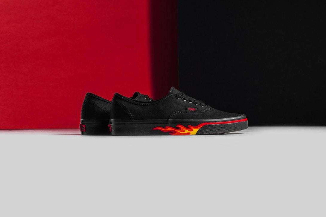 Vans Flame Wall Collection